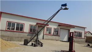 The structure and function of the camera crane of the film and television