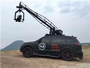 What's the effect of the guideway, the light, the camera crane used in the film?