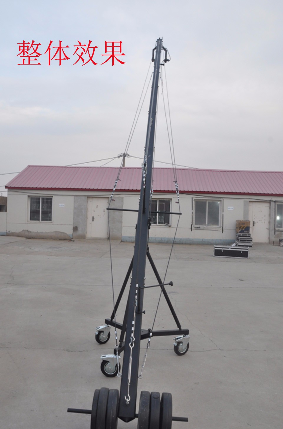 Precautions for the operation and maintenance of the camera crane