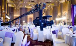 Some skills in the use of the camera crane in wedding photography