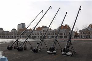 Talking about the function and function of the big camera crane