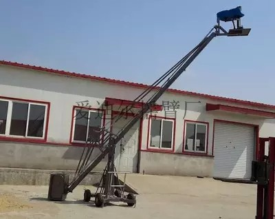 Installation and use of video camera crane