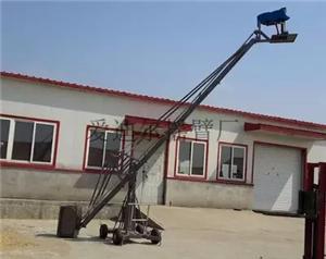 Installation and use of video camera crane