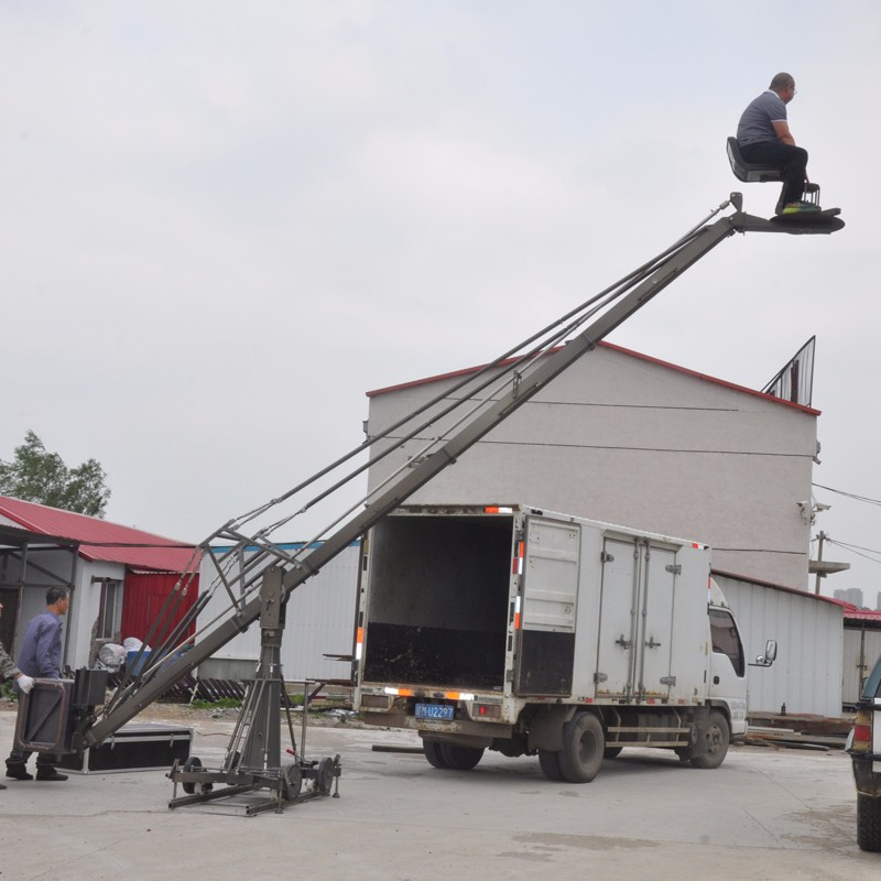 The function and function of the large camera crane