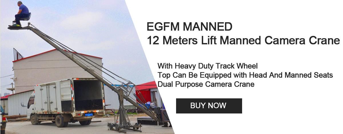 12 Meters Copy of GFM Camera Crane