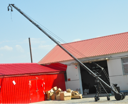 Promotion product Jimmy Jib 12 meter All Function Camera Crane