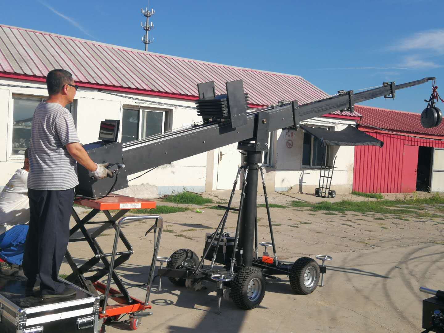 telescopic camera crane quote