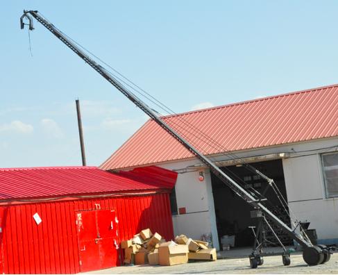 10m jimmy jib video camera jib crane
