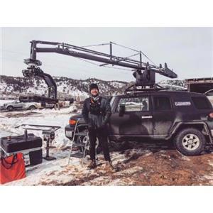 5m Stabilized Car Mount 360 Degree Jib Arm Camera Crane