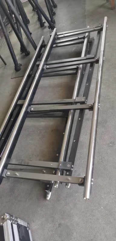 Electric track dolly