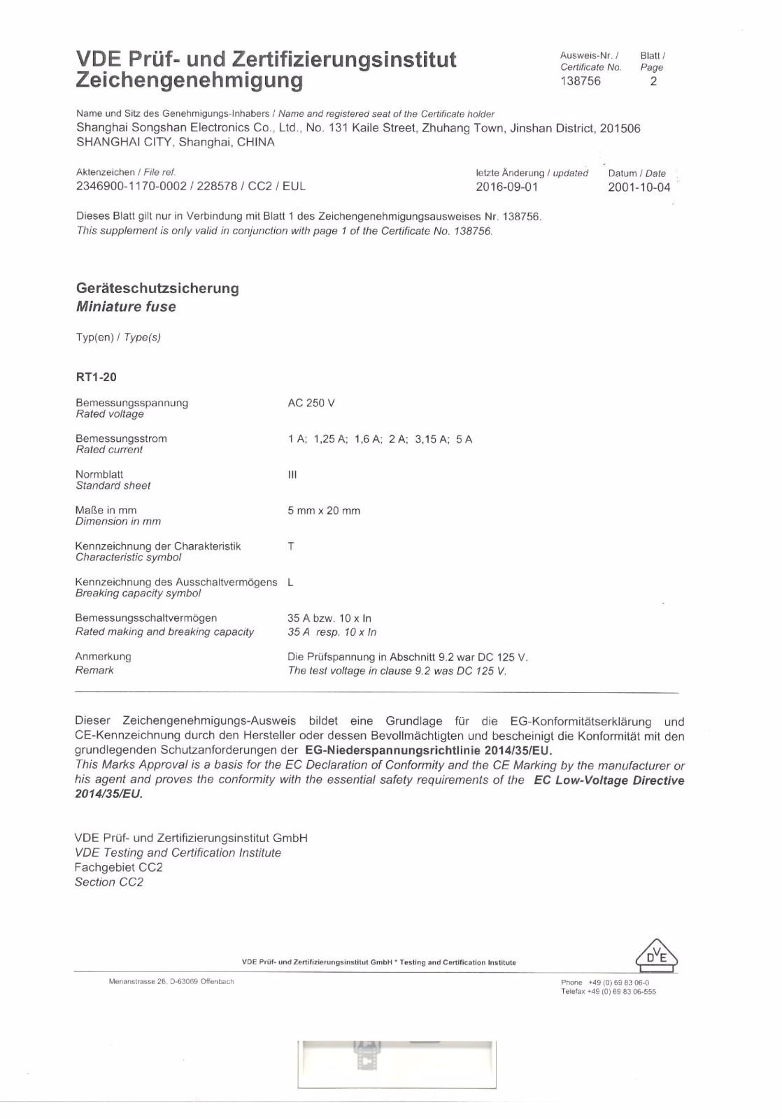 VDE Certification-2