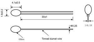 Precise Temperature Measurement NTC Thermistor