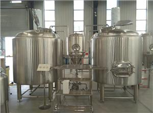 Steam Heating Brewhouse