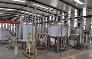Direct Fire Heating Brewhouse