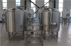 Two vessels brewhouse