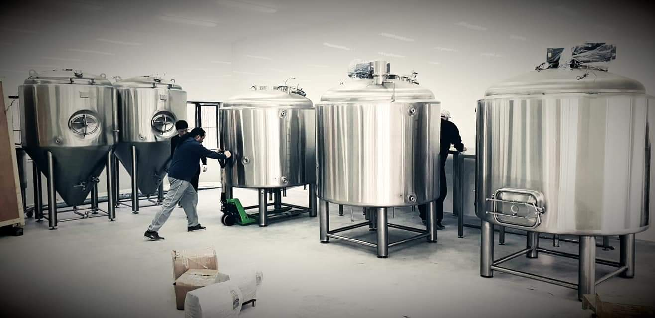 Bulgaria 1500L beer equipment model project