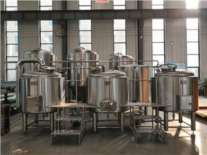 Electrical Heating Brewhouse