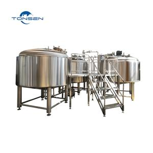 Beer brewing Pilot system