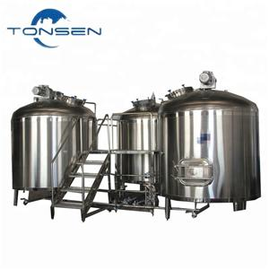 2000L Three Vessel Micro Brewery Equipment