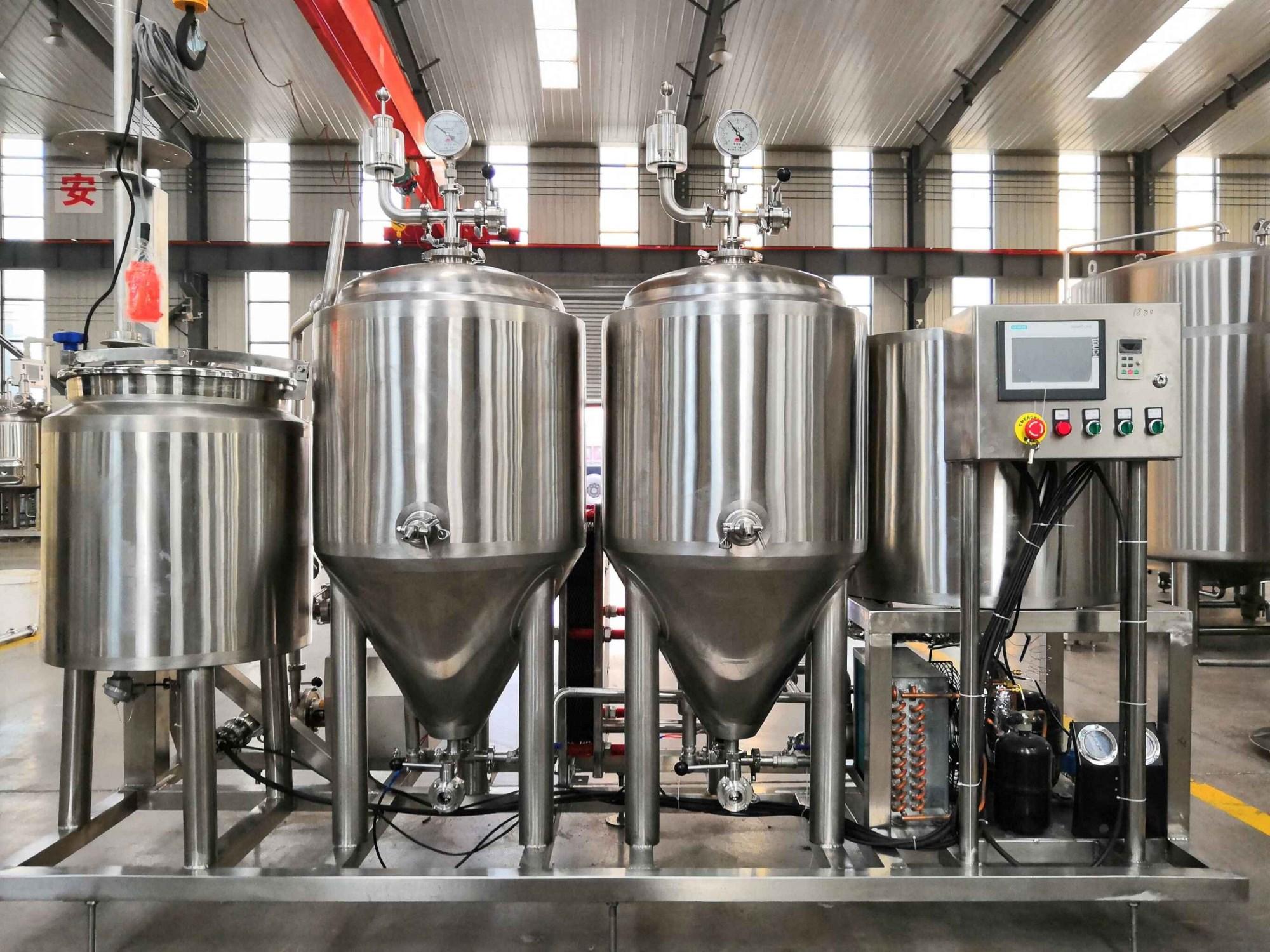 Mozambique beer equipment
