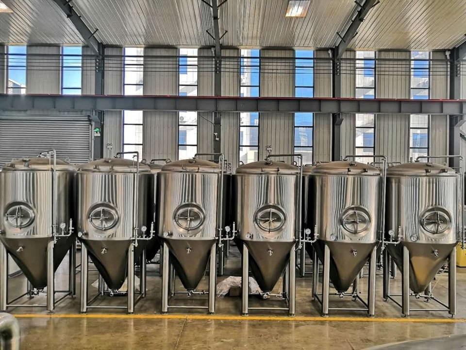 Application of brewing equipment