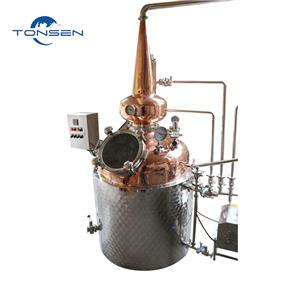 Congratulations to the first 300L distillation equipment independently developed by Tonsen has been successfully installed