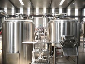 Beer brewery machine 1500L 15HL brewhouse system fermenting equipment with PLC control system