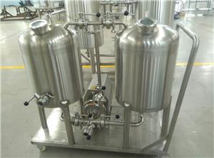 CIP Cleaning system for beer brewing system