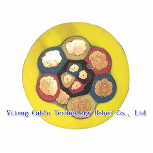 mining rubber cable