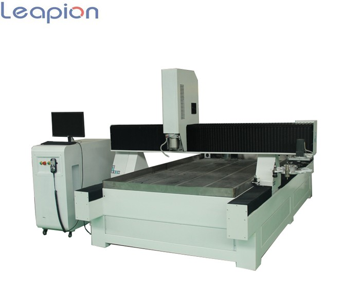 Leapion Stone cnc router 1325 with disc type auto tool changer