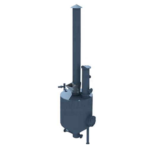 Open acetylene generator