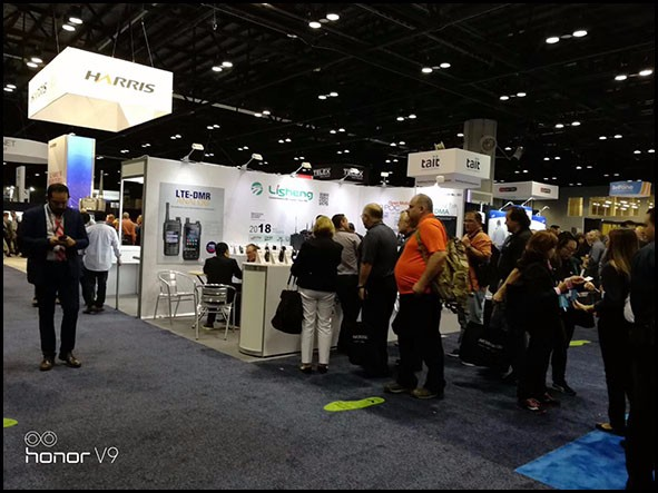 The IWCE show ended successfully