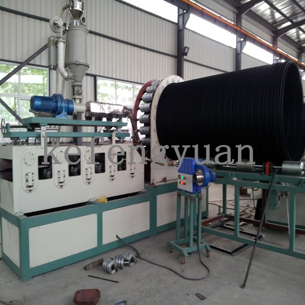 HDPE Steel Reinforced Winding Pipe Machine