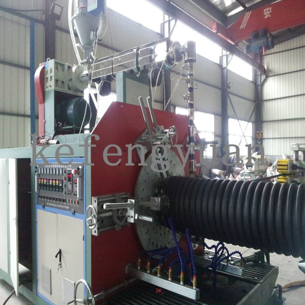 Spiral type Corrugated Pipe Extrusion Line