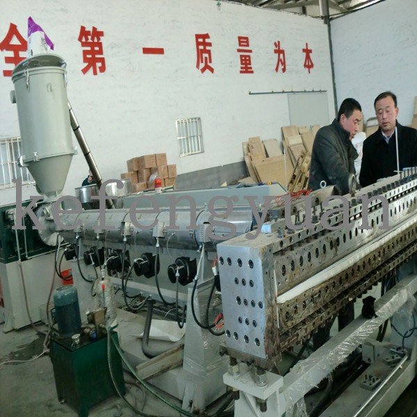 Hollow Sheet Plastic Extrusion Machine