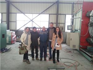 Spiral pipe machine export to Colomiba