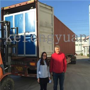 Two layers HDPE sewage spiral pipe machine export to Georgia