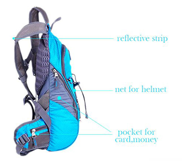 Water Bladder hydration backpack for Cycling Running Walking Hiking