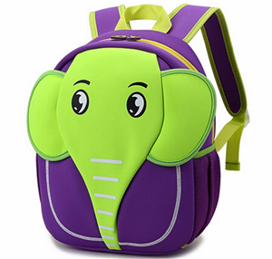 3d animal School bag