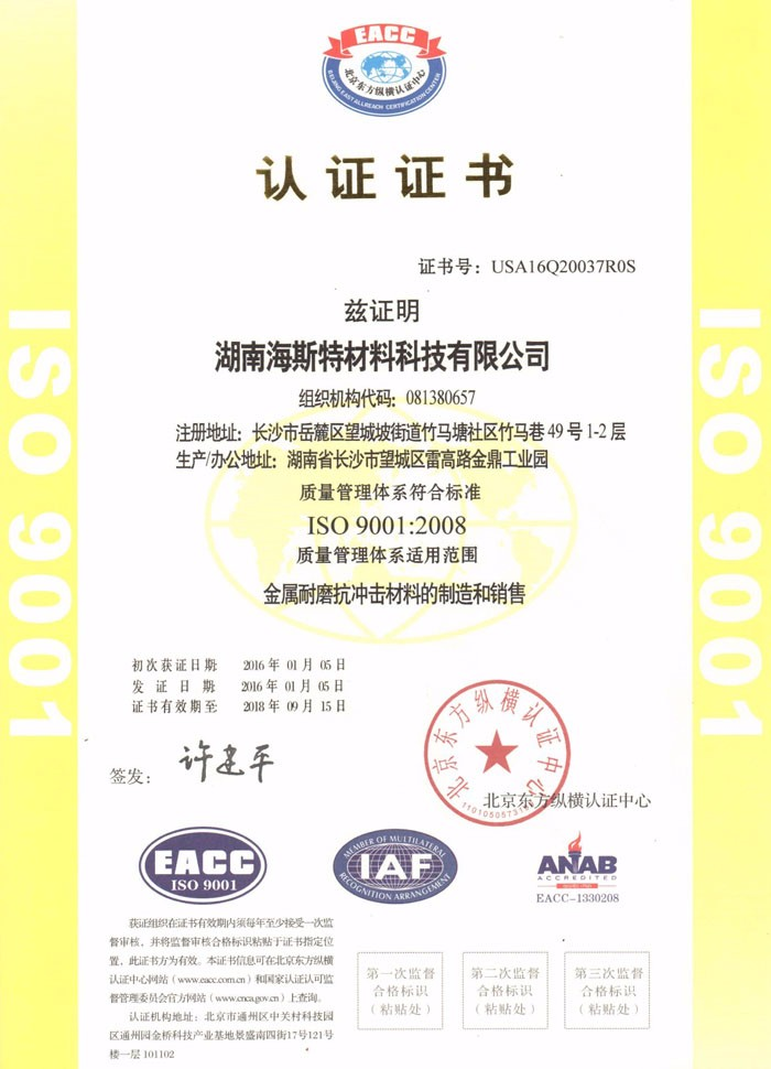 ISO 9001 : 2008 (Chinese)