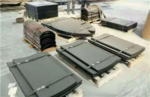 Coated wear plates