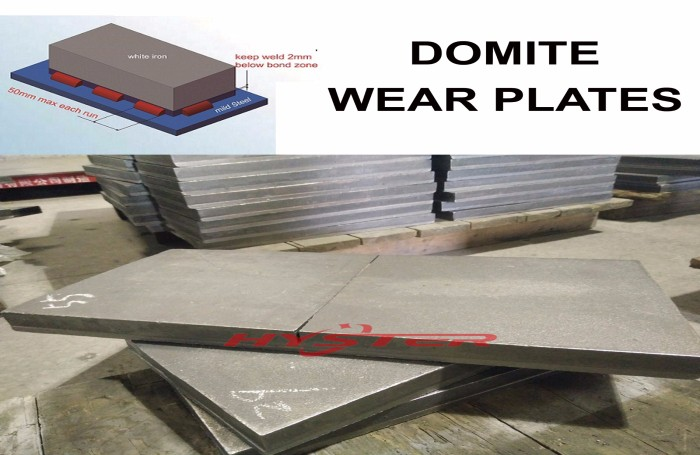 Laminated wear liners CrMo