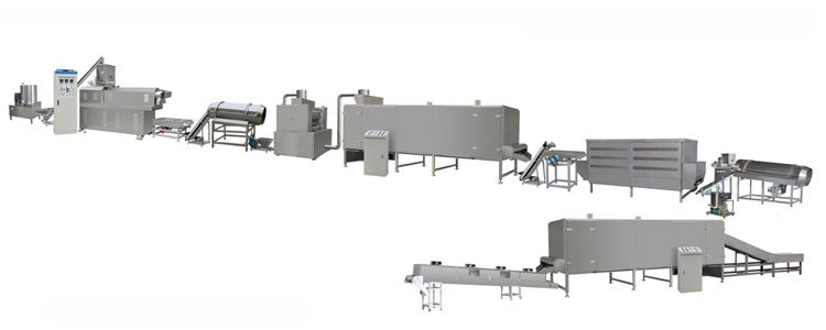 corn flakes extrusion inflating line.jpg