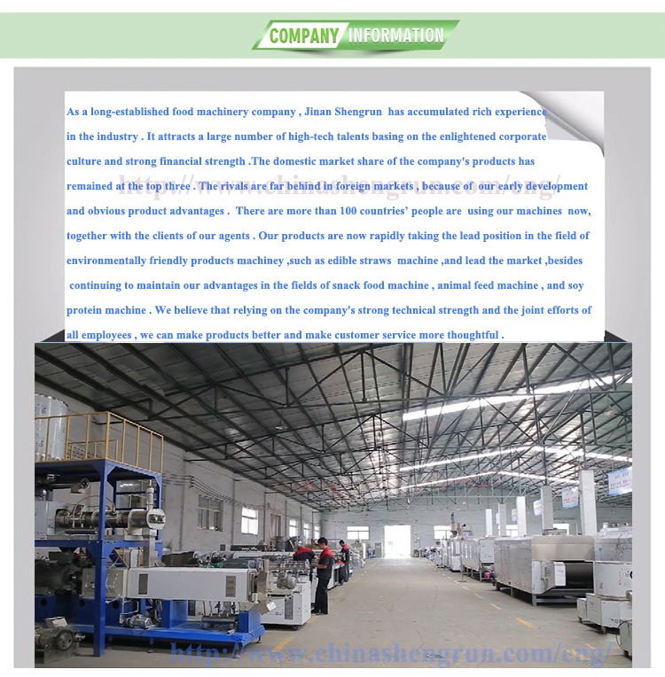 edible fork processing line