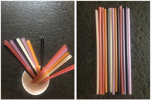 edible drinking straw