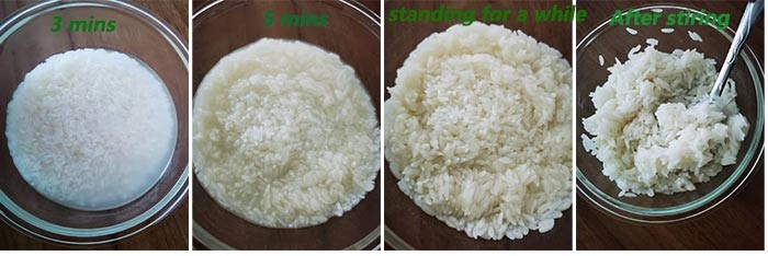 Instant rice is very hot now