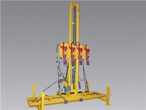 Four Hammer Rock Driller