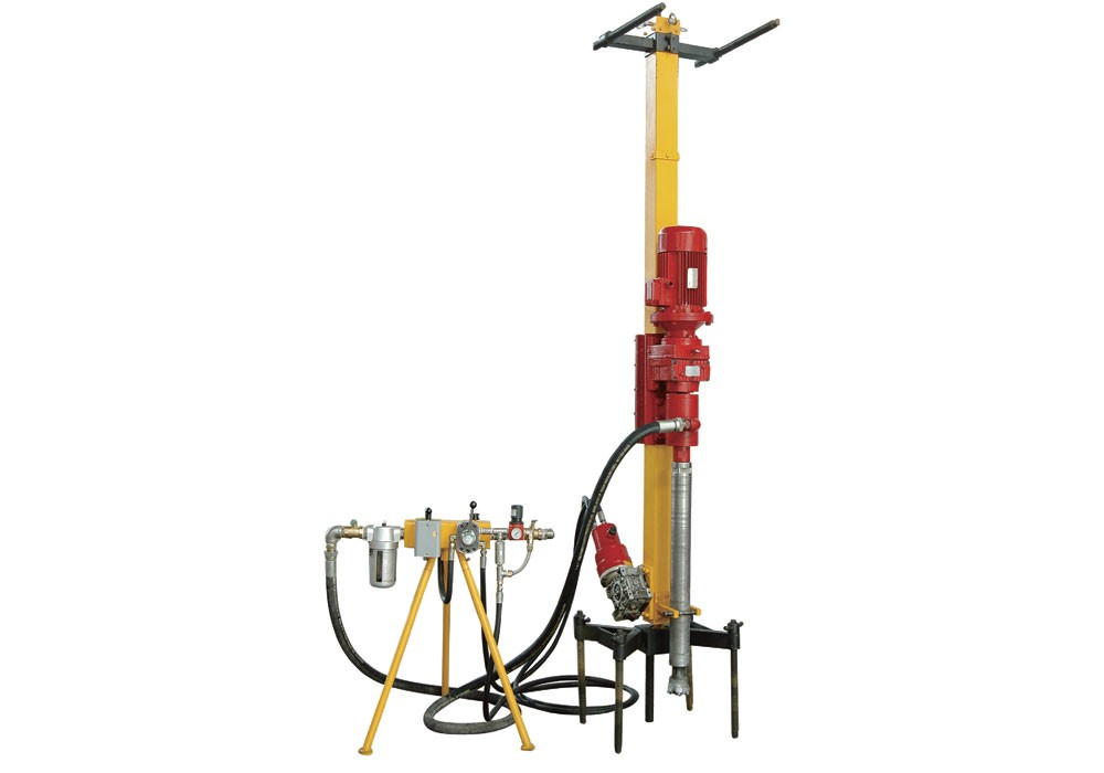 Electric DTH Drilling Machine