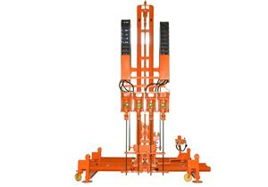 High-speed Four-hammer Rock Driller