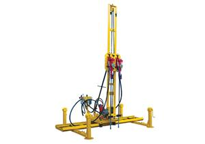 High-speed Two-hammer Rock Driller